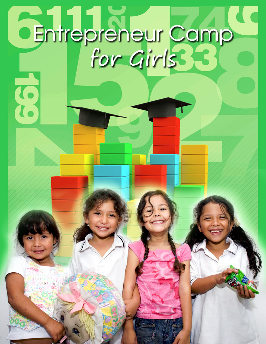 Camp for Girls Annual Report Cover Design